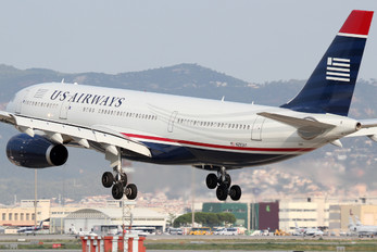 N293AY - US Airways Airbus A330-200