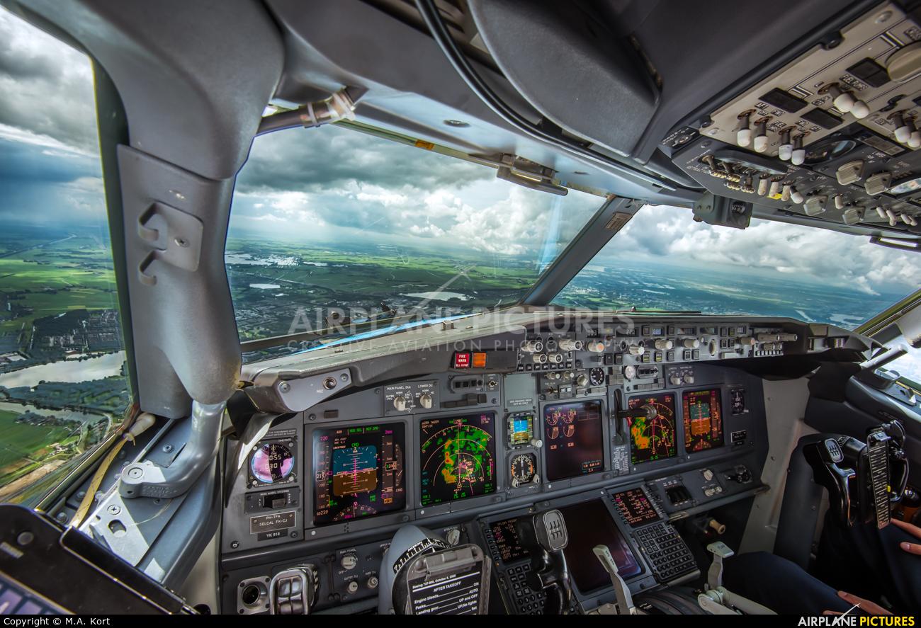 Arke/Arkefly PH-TFA aircraft at Amsterdam - Schiphol