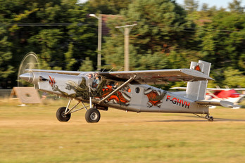 F-GHVH - Private Pilatus PC-6 Porter (all models)