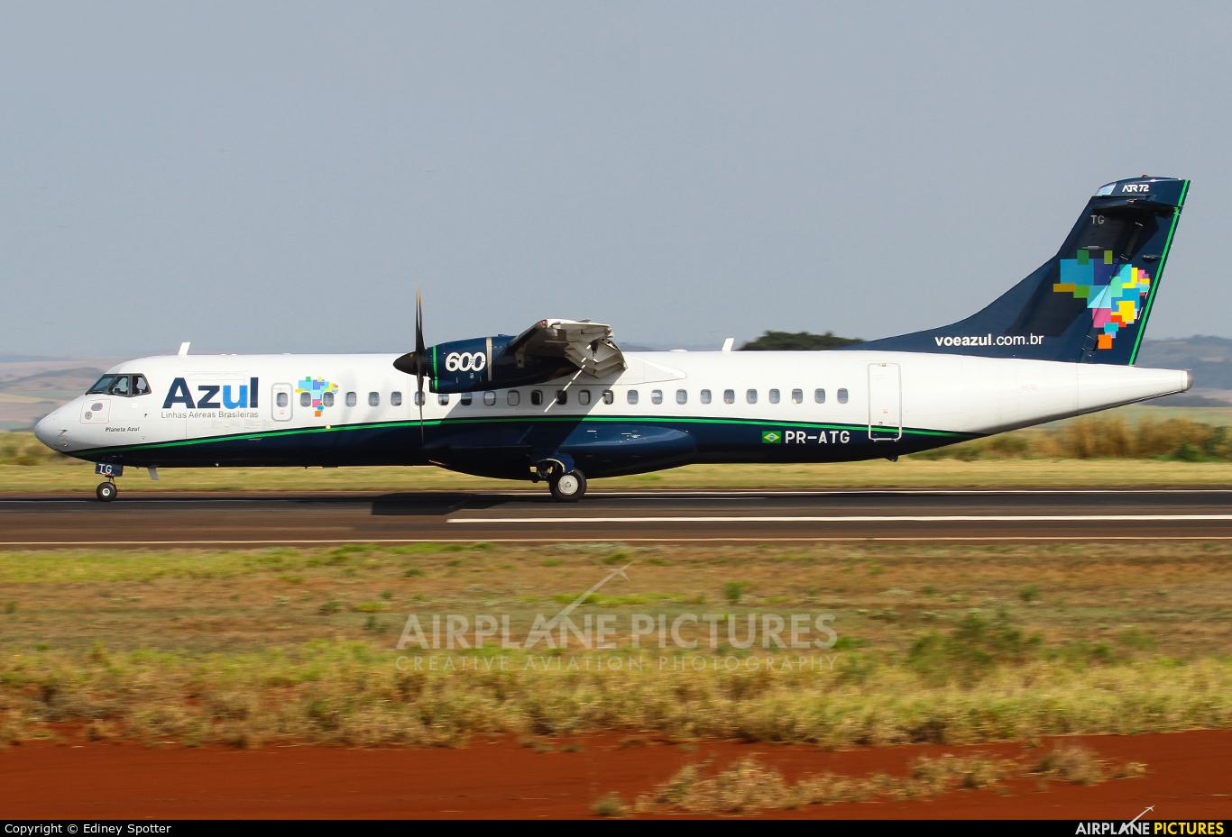 Azul Linhas Aéreas PR-ATG aircraft at Maringá - Sílvio Name Júnior Regional