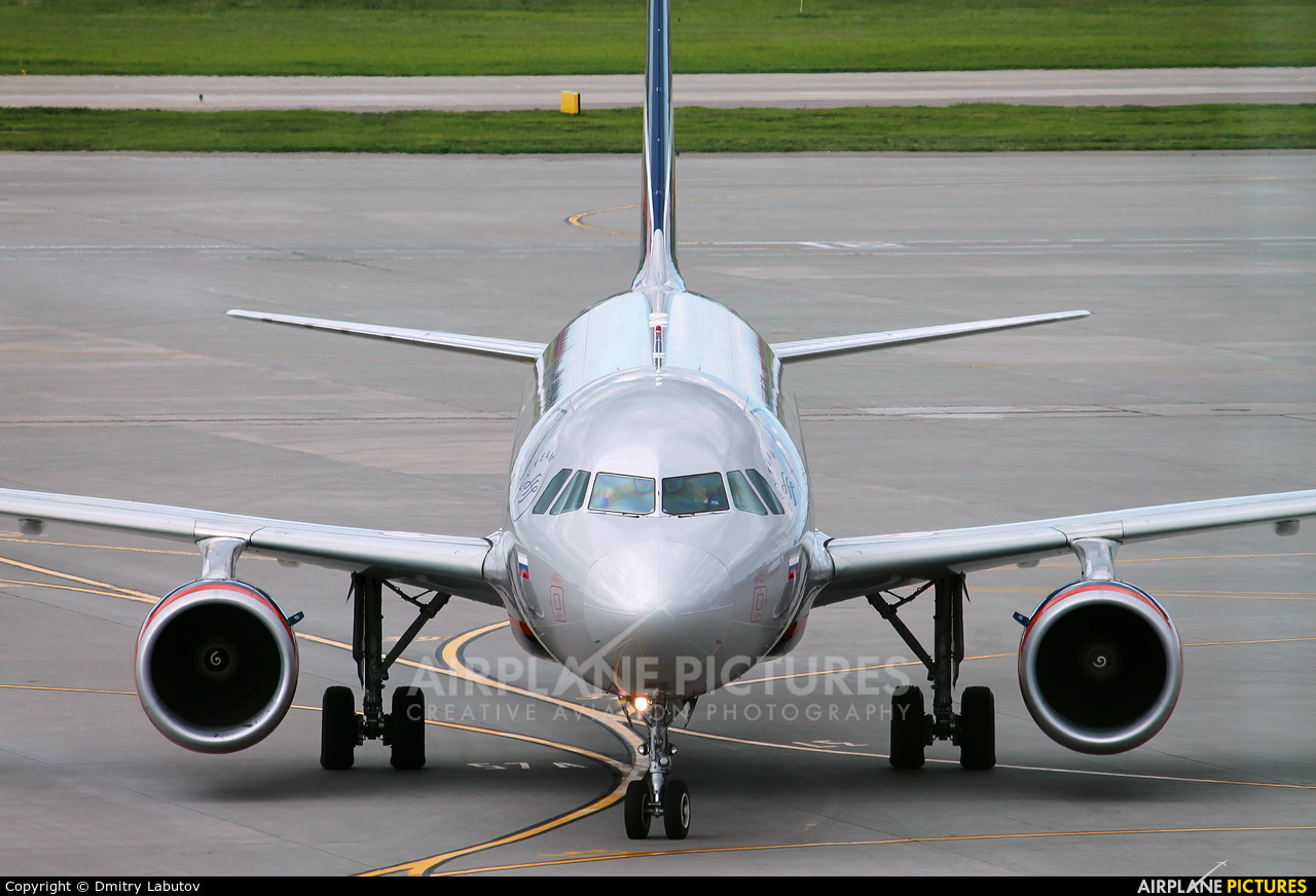 Aeroflot VQ-BHN aircraft at Moscow - Sheremetyevo
