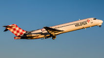EC-FBM - Volotea Airlines Boeing 717 aircraft