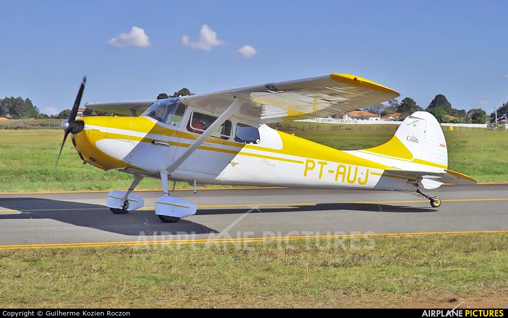 Private PT-AUJ aircraft at Curitiba - Bacacheri