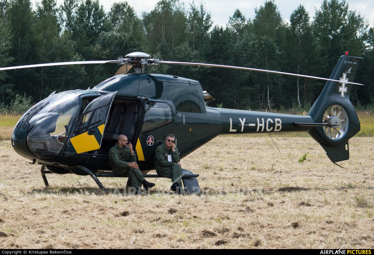 Lithuania - Border Guard LY-HCB aircraft at Alytus