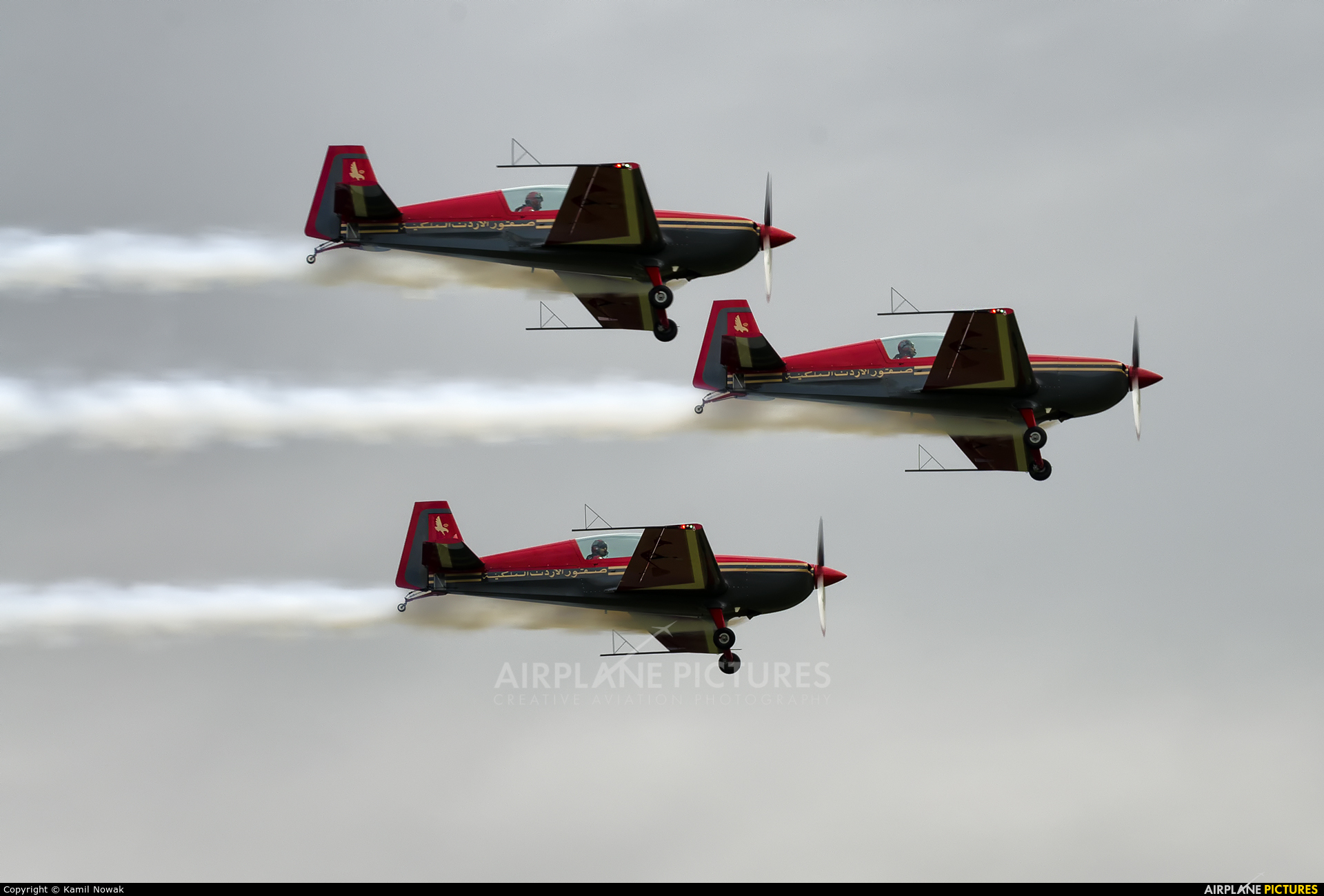 Royal Jordanian Falcons - aircraft at Nowy Targ