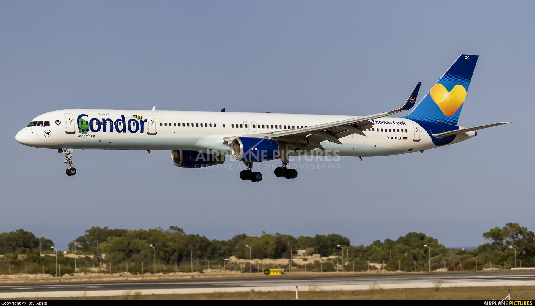 Condor D-ABOG aircraft at Malta Intl