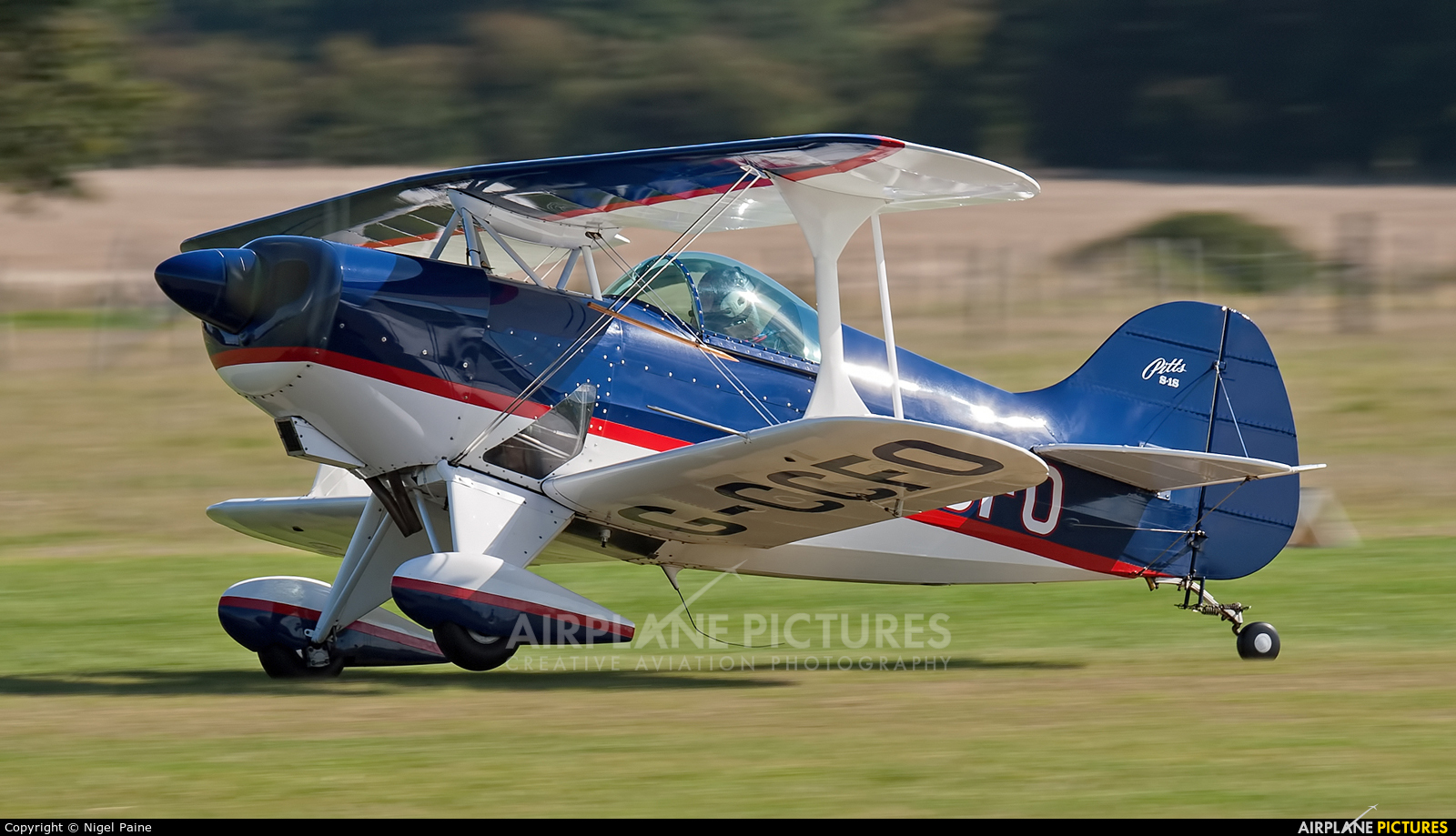 Private G-CCFO aircraft at Lashenden / Headcorn