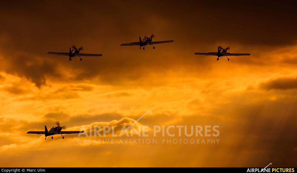 The Flying Bulls : Aerobatics Team OK-XRB aircraft at Donauwörth - Genderkingen
