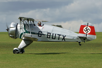 G-BUTX - Private Bücker Bü.133 Jungmeister