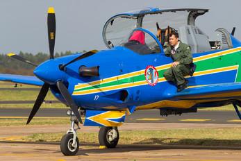 """FAB5717 - Brazil - Air Force """"Esquadrilha da Fumaça"""" Embraer EMB-314 Super Tucano A-29A"""
