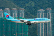 HL7605 - Korean Air Cargo Boeing 747-400F, ERF aircraft