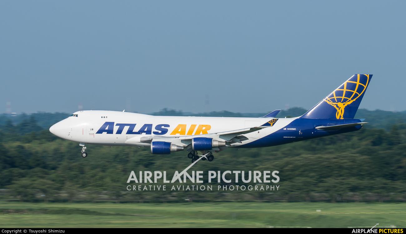 Atlas Air N498MC aircraft at Tokyo - Narita Intl