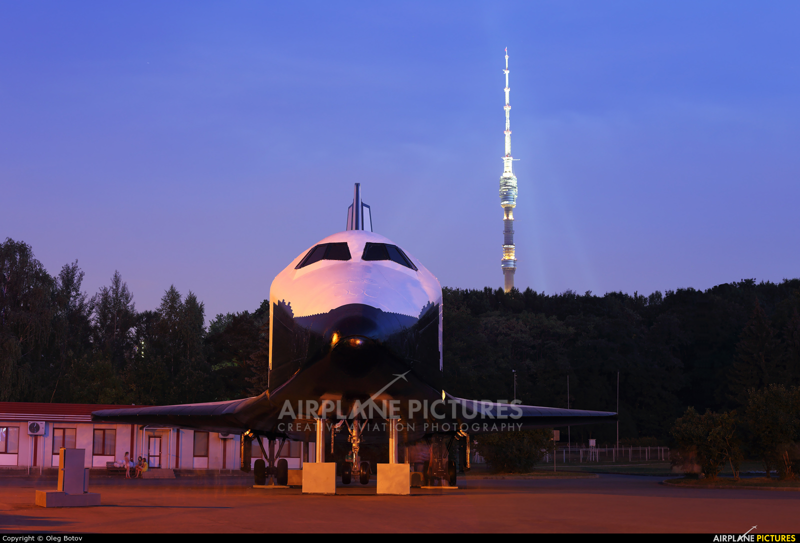 Russian Space Agency 0.01 aircraft at Off Airport - Russia