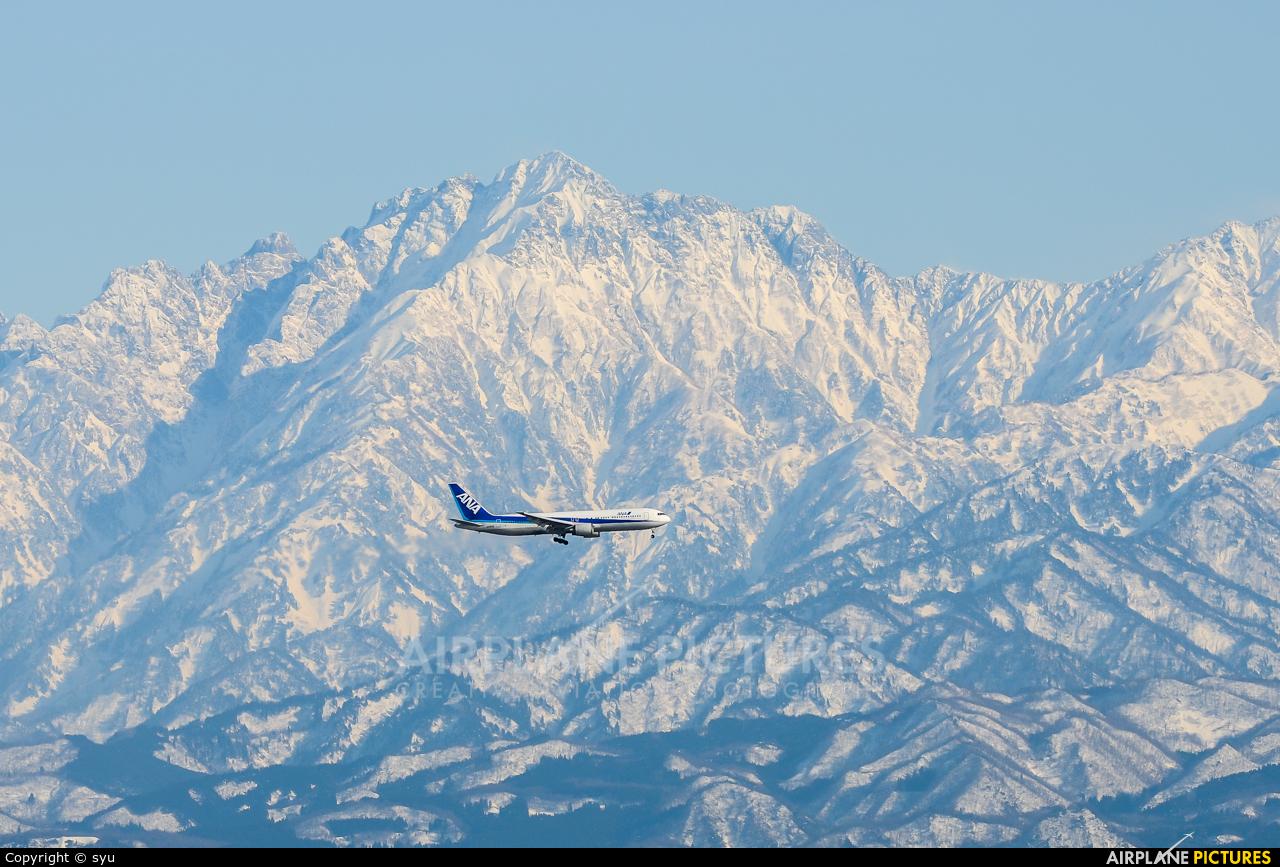 ANA - All Nippon Airways - aircraft at Toyama