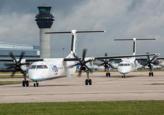 G-JECO - Flybe de Havilland Canada DHC-8-400Q / Bombardier Q400