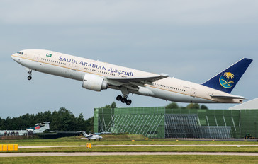 HZ-AKB - Saudi Arabian Airlines Boeing 777-200ER