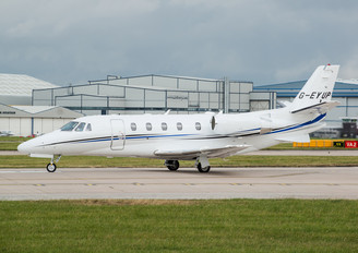 G-EYUP - Private Cessna 560XL Citation XLS