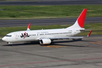 JA328J - JAL - Express Boeing 737-800