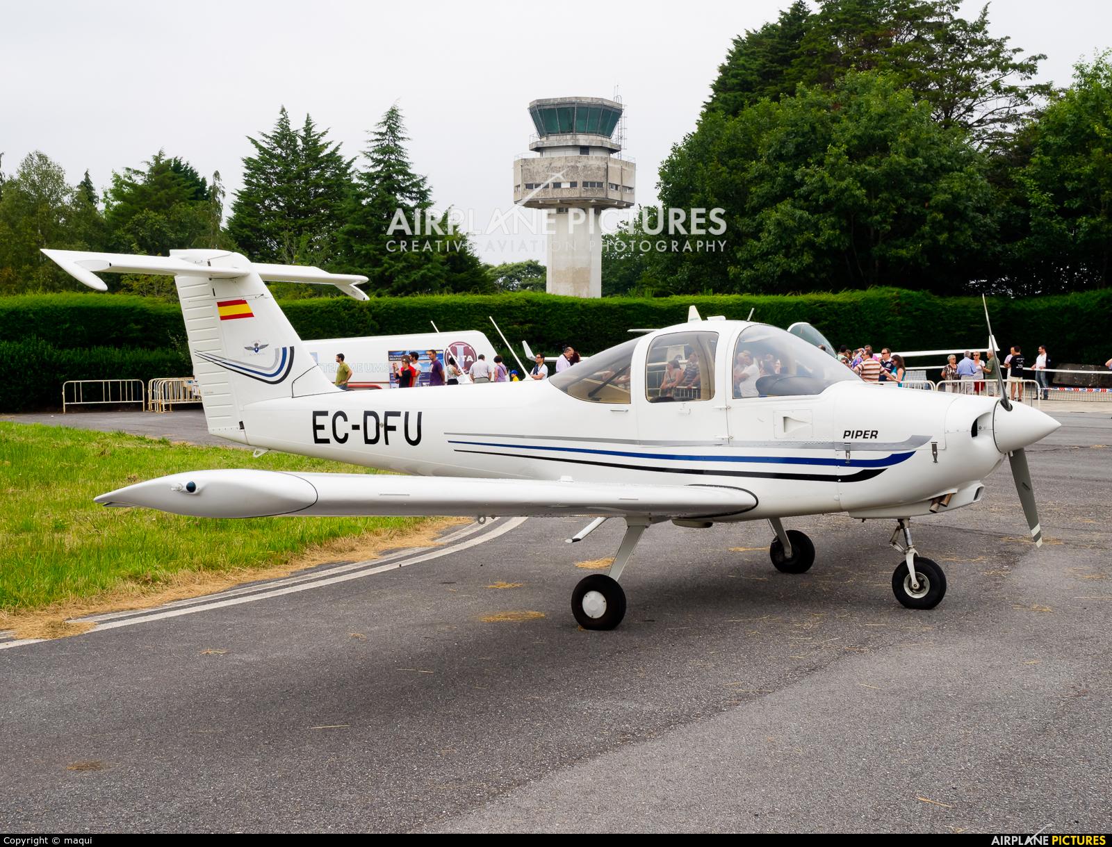 Real Aero Club de Lugo EC-DFU aircraft at Lugo - Rozas