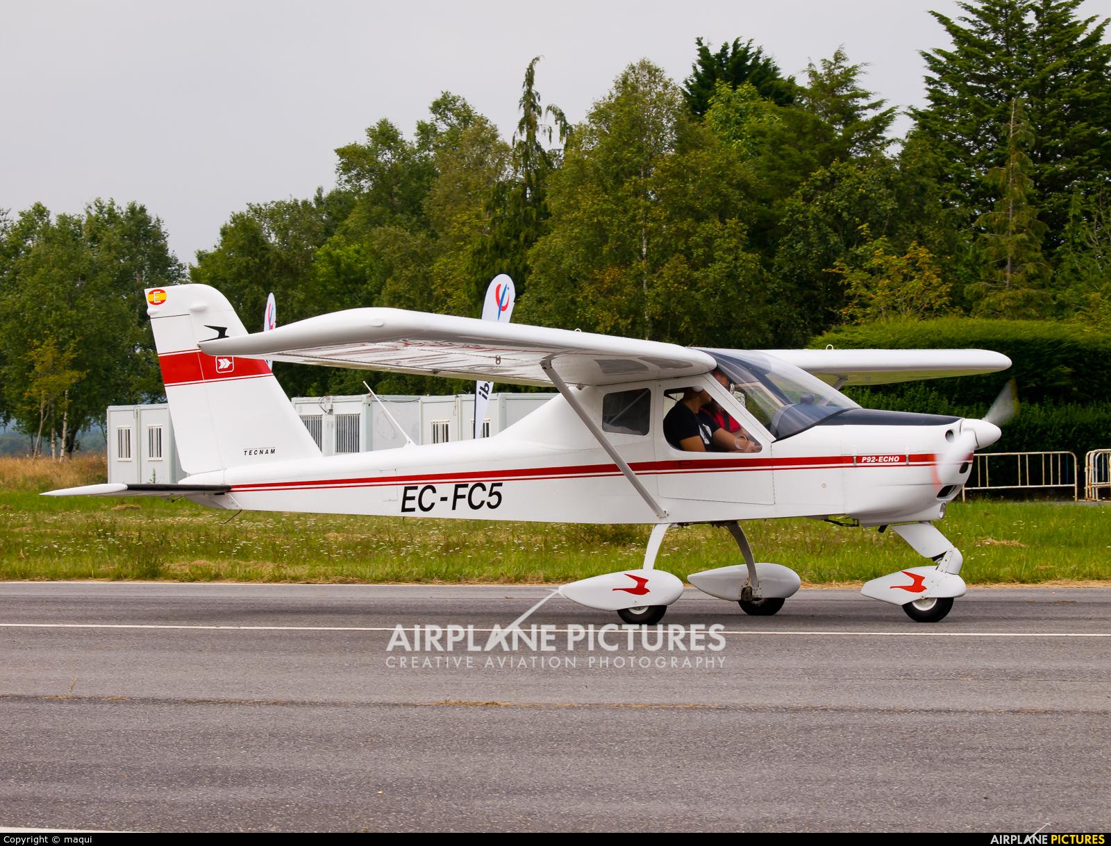 Private EC-FC5 aircraft at Lugo - Rozas