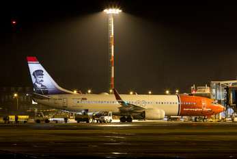 LN-NIB - Norwegian Air Shuttle Boeing 737-800