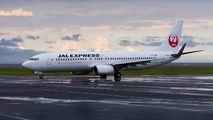 JA343J - JAL - Express Boeing 737-800 aircraft
