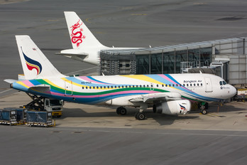 HS-PGX - Bangkok Airways Airbus A319