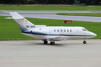 OE-GCE - Goldeck-Flug Hawker Beechcraft 800XP