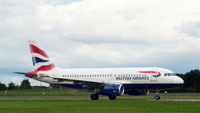 G-EUPV - British Airways Airbus A319