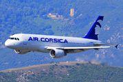 F-HBEV - Air Corsica Airbus A320 aircraft