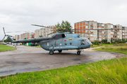 Lithuanian Air Force emergency training in town title=