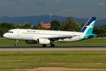 9V-SLJ - SilkAir Airbus A320
