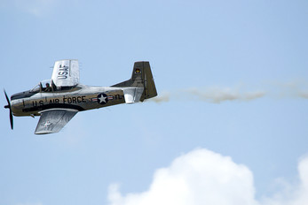 NX82FT - Private North American T-28A Trojan