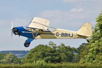 G-BBHJ - Private Piper J3 Cub