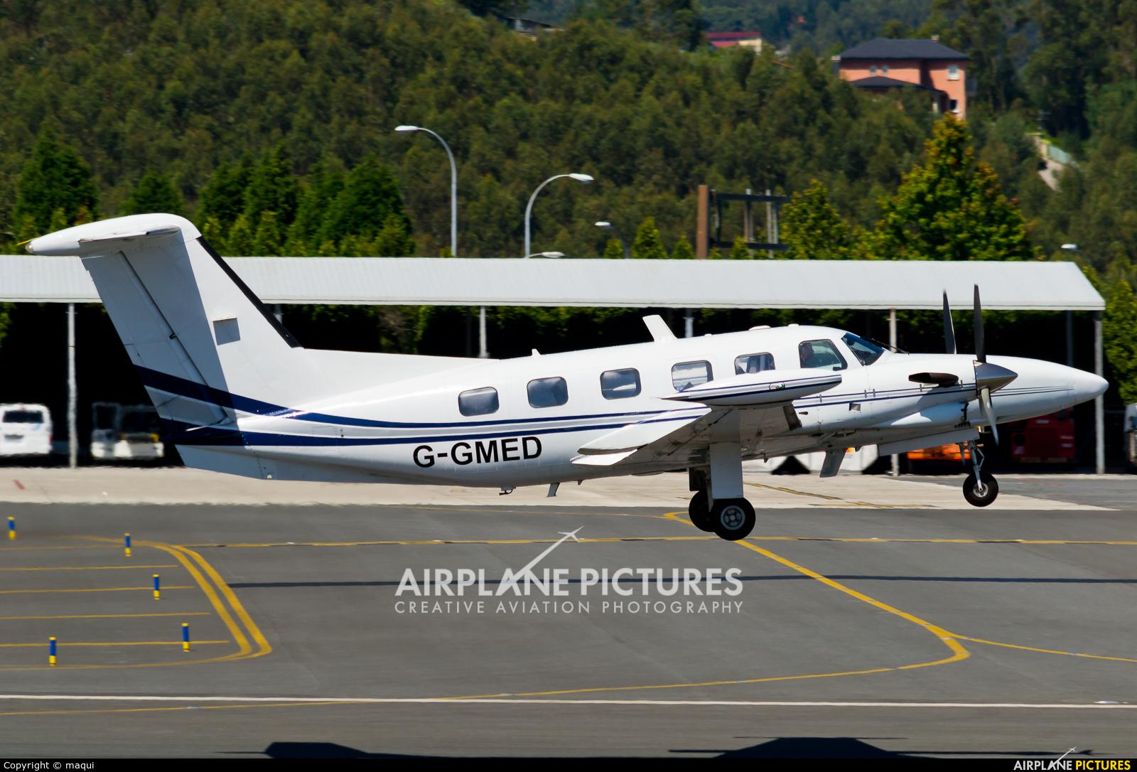 Air Medical Fleet G-GMED aircraft at La Coruña