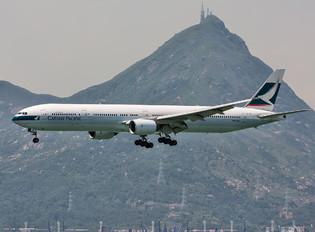 B-HNI - Cathay Pacific Boeing 777-300
