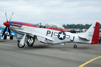N51ZM - Private North American P-51D Mustang