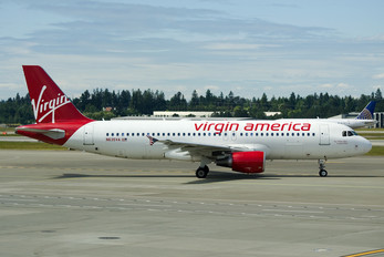N635VA - Virgin America Airbus A320