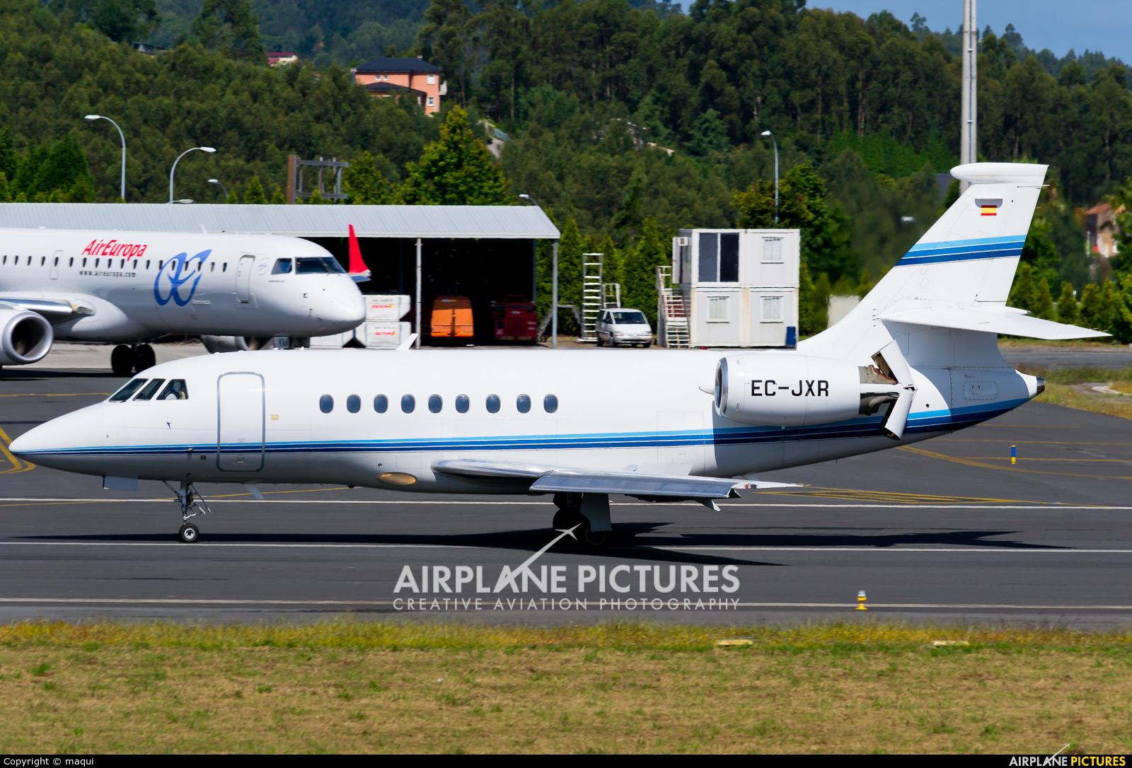 Gestair EC-JXR aircraft at La Coruña