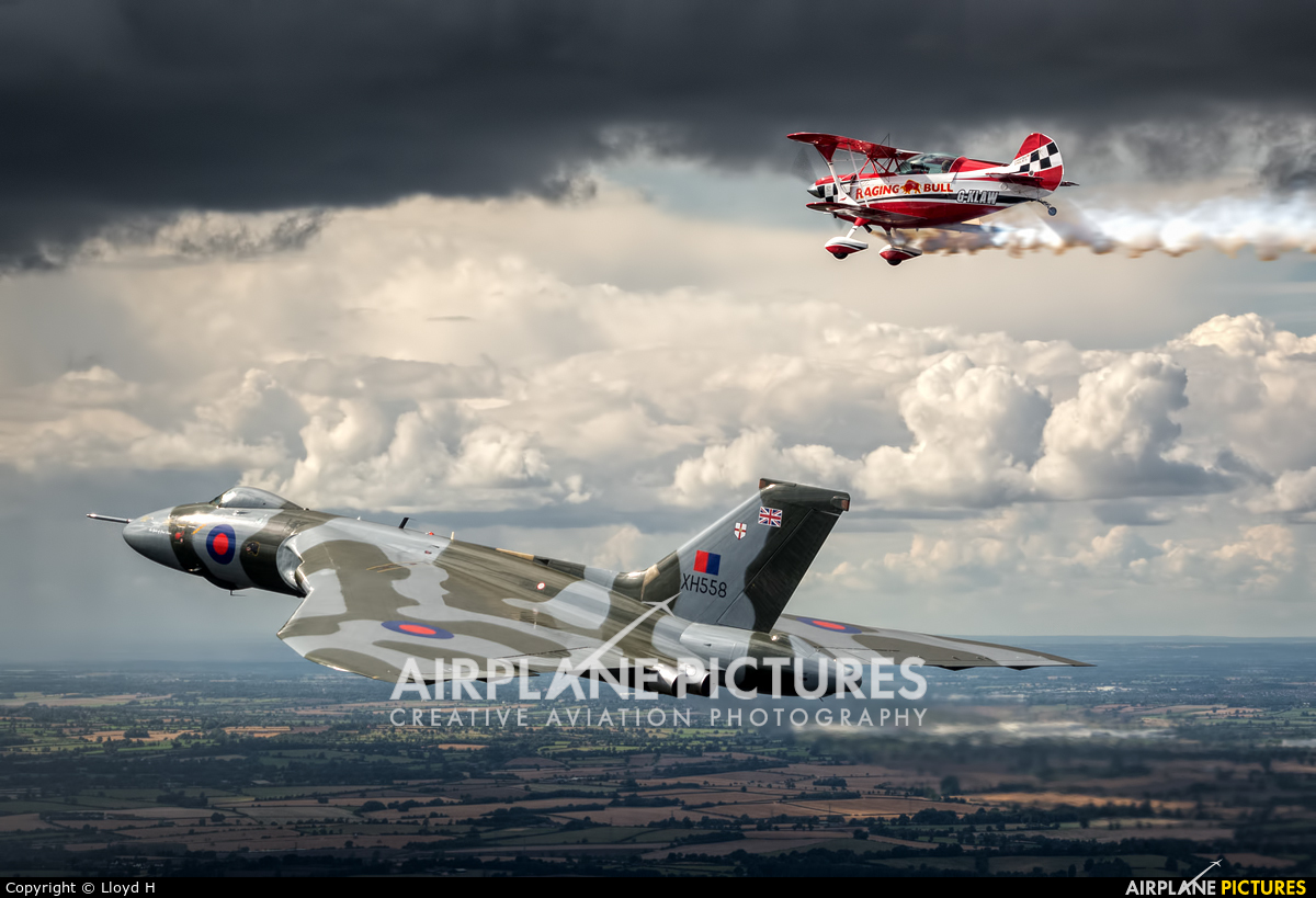 Vulcan to the Sky Trust G-VLCN aircraft at In Flight - England