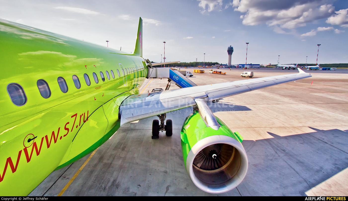 S7 Airlines VP-BTW aircraft at St. Petersburg - Pulkovo