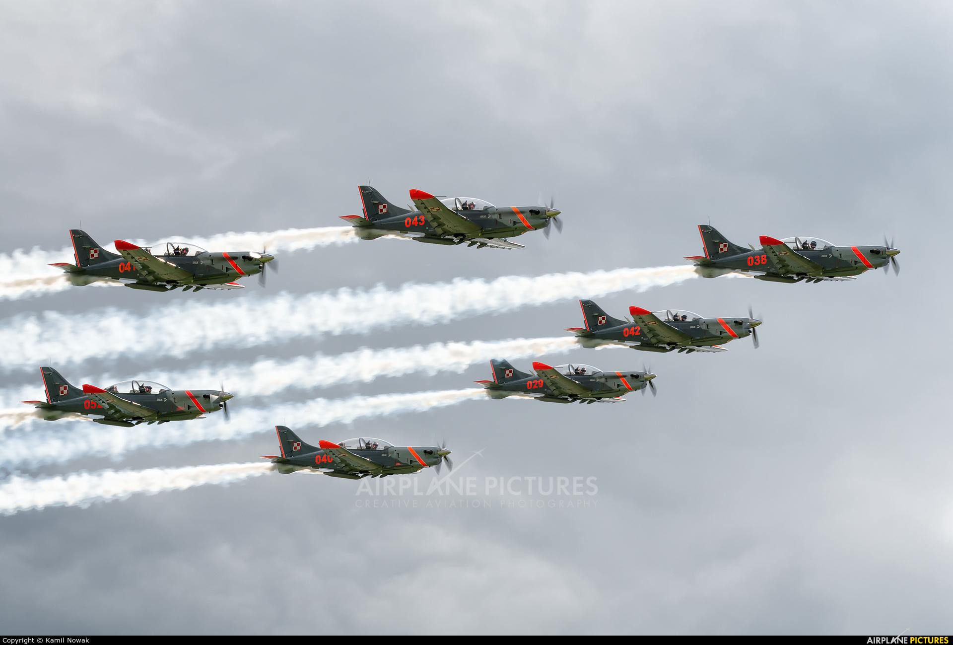 "Poland - Air Force ""Orlik Acrobatic Group"" - aircraft at Nowy Targ"