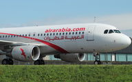 CN-NMF - Air Arabia Airbus A320 aircraft