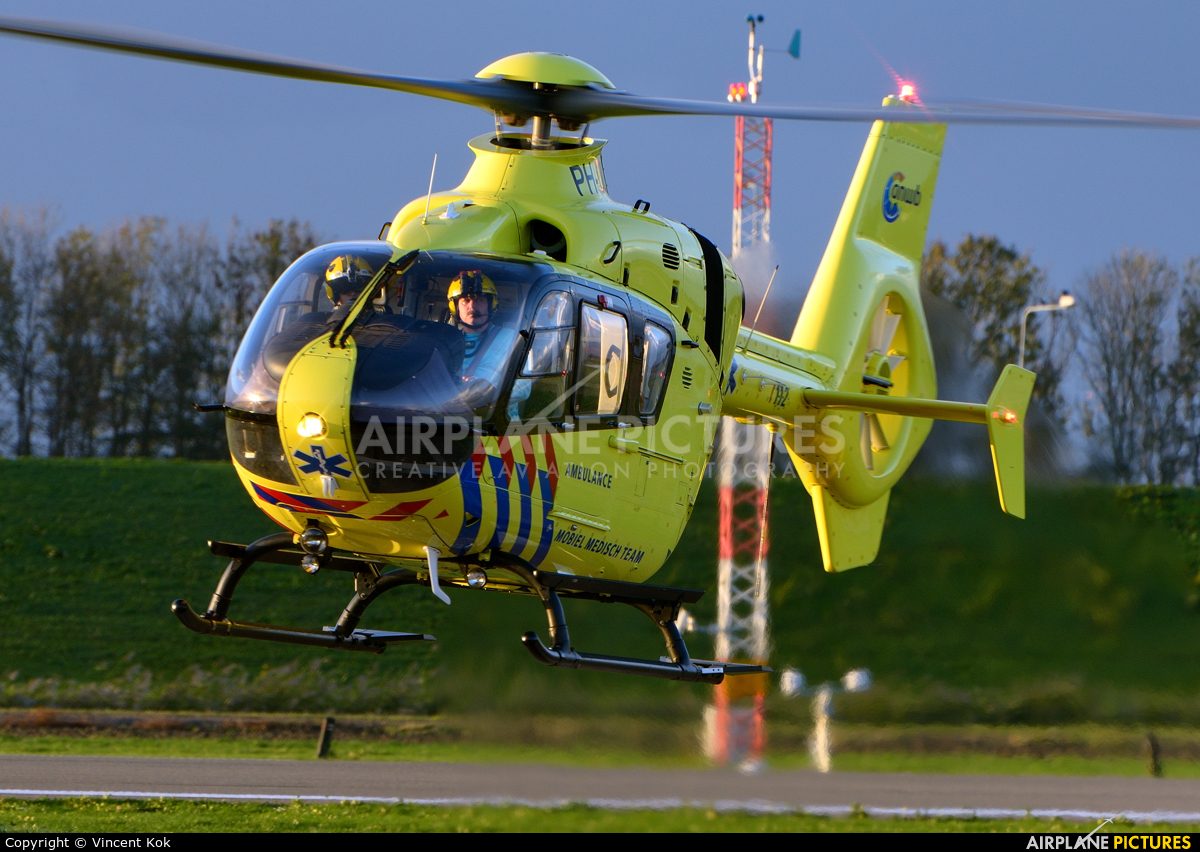 ANWB Medical Air Assistance PH-ELP aircraft at Lelystad