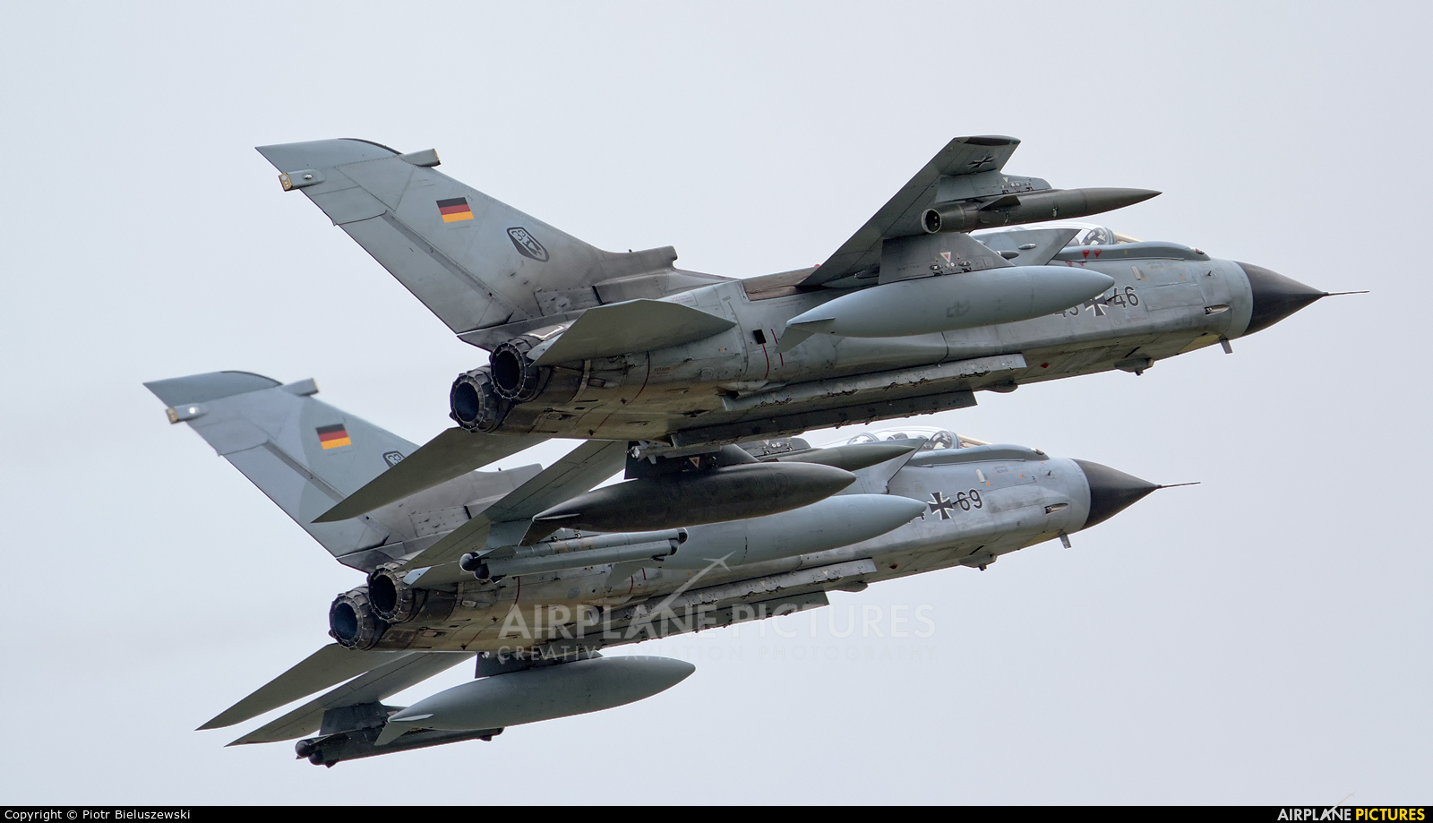 Germany - Air Force 43+46 aircraft at Rostock - Laage