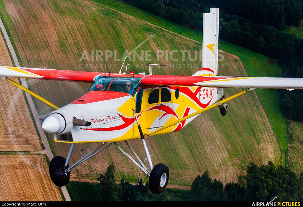 Skydive Colibri F-GKIA aircraft at In Flight - Germany