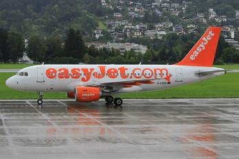 G-EZED - easyJet Airbus A319