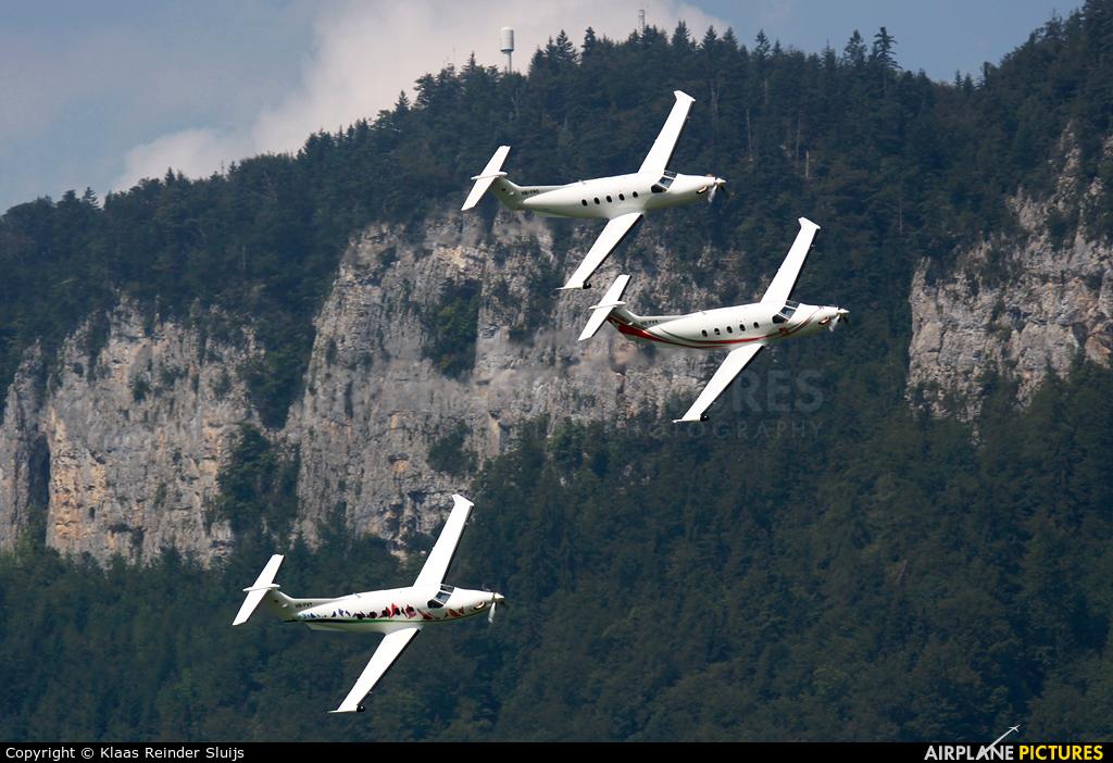 Pilatus HB-FVX aircraft at Buochs
