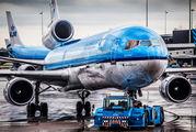 PH-KCA - KLM McDonnell Douglas MD-11 aircraft