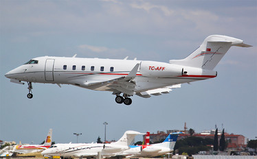 TC-AFF - Private Bombardier BD-100 Challenger 300 series